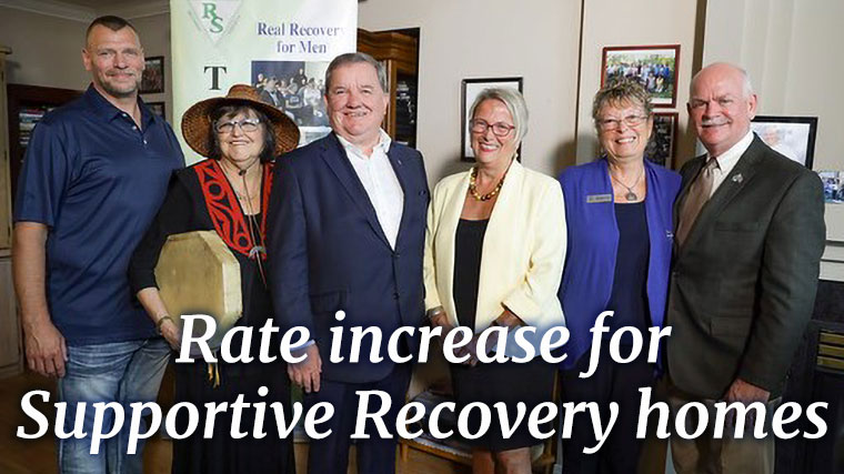 2019 August 23 Group Smiling 2 Rate increase and grant funding coming to supportive recovery